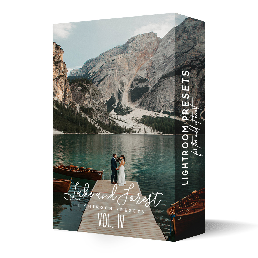 Lake and Forest Lightroom Presets Vol. 4