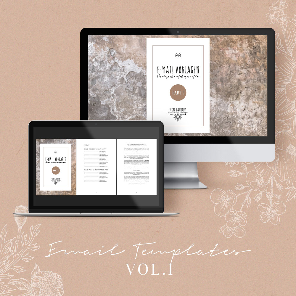 EMAIL TEMPLATES FOR WEDDINGPHOTOGRAPHERS PART 1